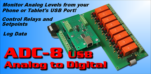 USB Analog to Digital App for Android