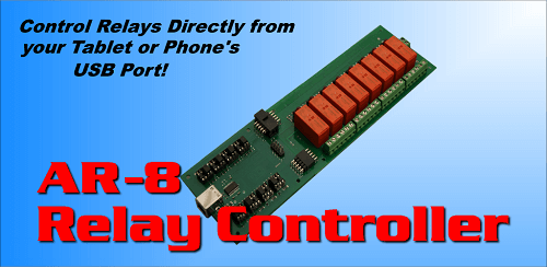 AR-8 Relay Control App for Android