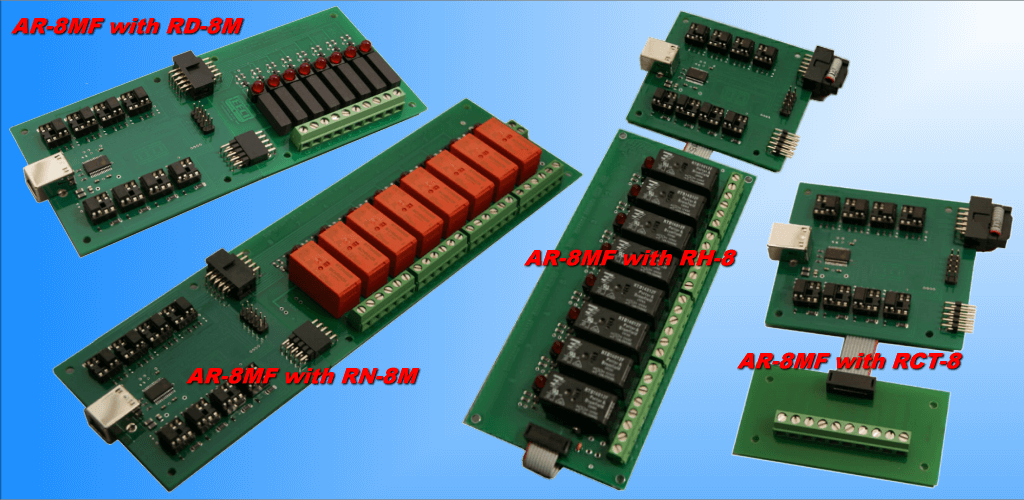 AR-8MF with relay cards
