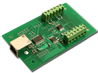 8 bit, 8 channel USB Analog to Digital Converter