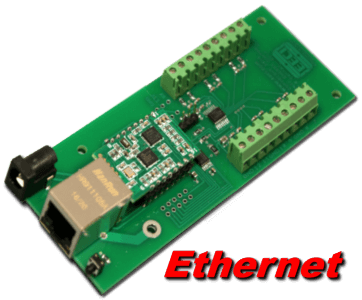 8 bit, 12 channel Ethernet Analog to Digital Converter