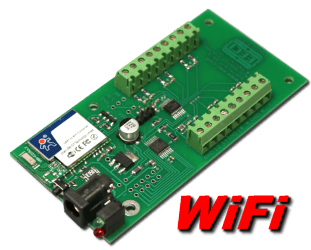 WiFi Analog to Digital (8, 10 and 12 bit)