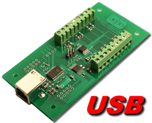 8 bit, 12 channel USB Analog to Digital Converter
