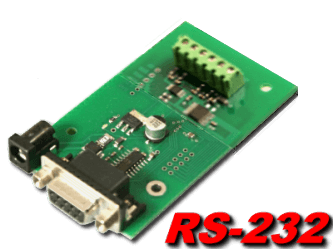 10 bit, 4 channel RS-232 Analog to Digital Converter