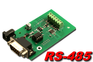 11, 12, 15 and 16 bit Analog to Digital for connection to RS-485