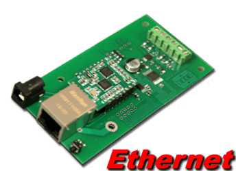 10 bit, 4 channel Ethernet Analog to Digital Converter