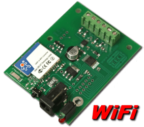 10 bit, 4 channel WiFi Analog to Digital Converter