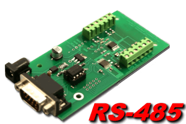8 bit, 8 channel RS-485 Analog to Digital Converter