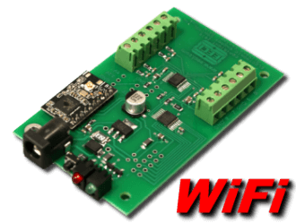 8 bit, 8 channel WiFi Analog to Digital Converter