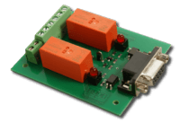 2 Relay RS-232 Interface