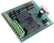2 relay Digital I/O Interface