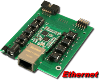 Ethernet Relay (8 channel)