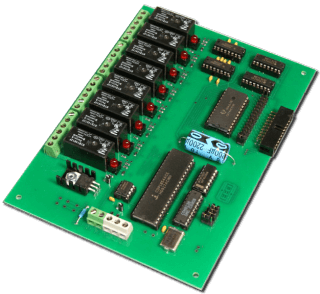 8 Relay USB/RS-232/RS-485 Interface - Expandable