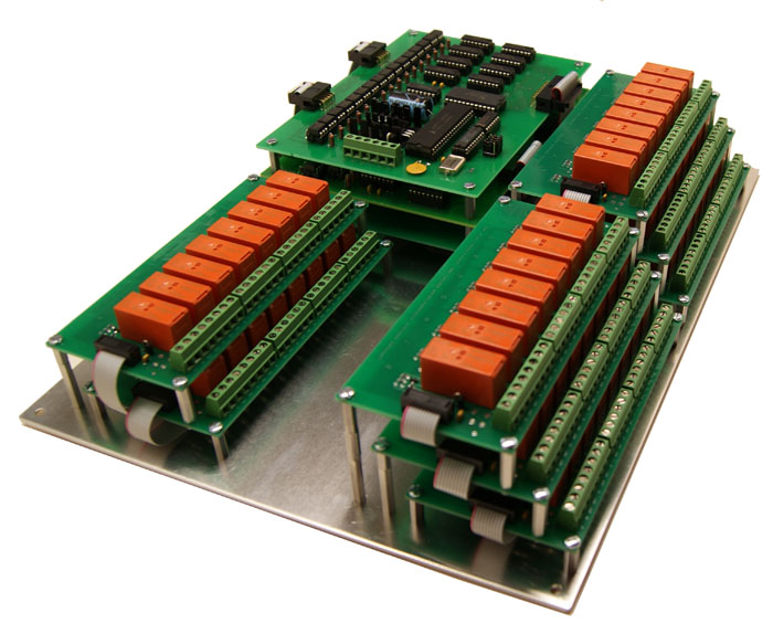 32 Relay RS-232 Interface