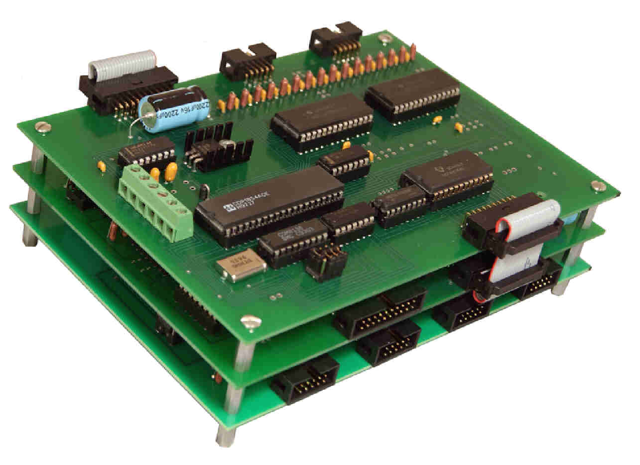 Analog to Digital with Relay Interface for connection to RS-232