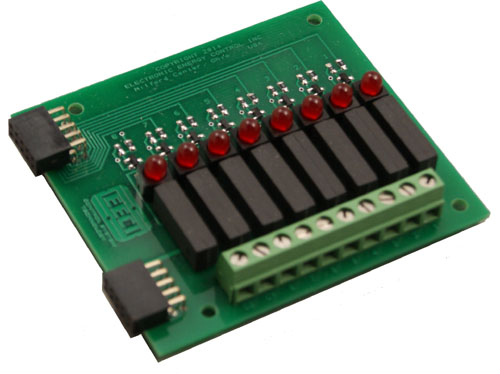 RD-8M Reed Relay Card SPST